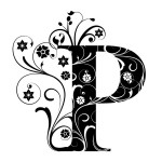 Letter Capital P