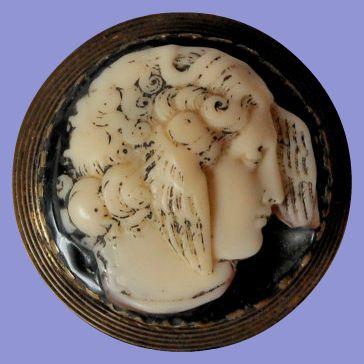 www.deborah-weber.com (vintage Victorian Revival style brooch of Mercury/Hermes)