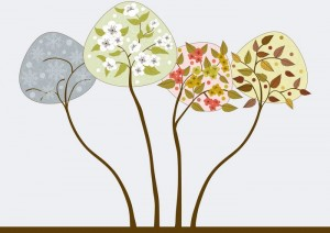 Trees In Seasons